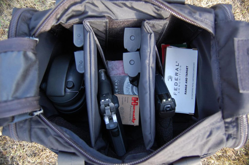 What to put in your range bag: Guns, Ammo, and Ear Pro