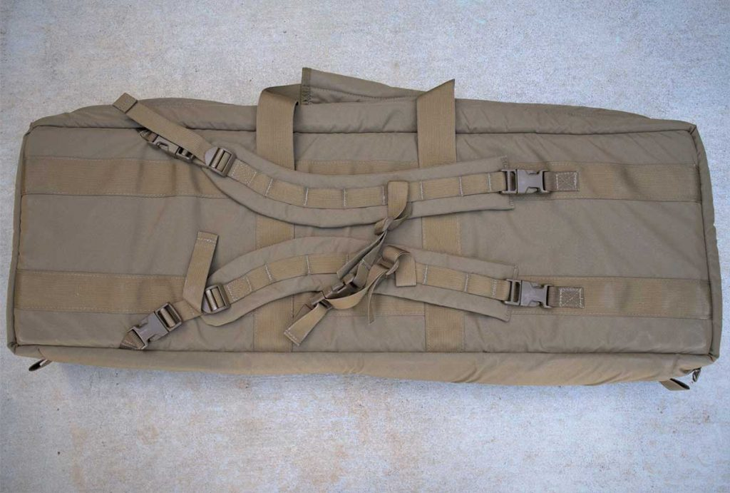 "36"" Rifle Case Backpack Straps"