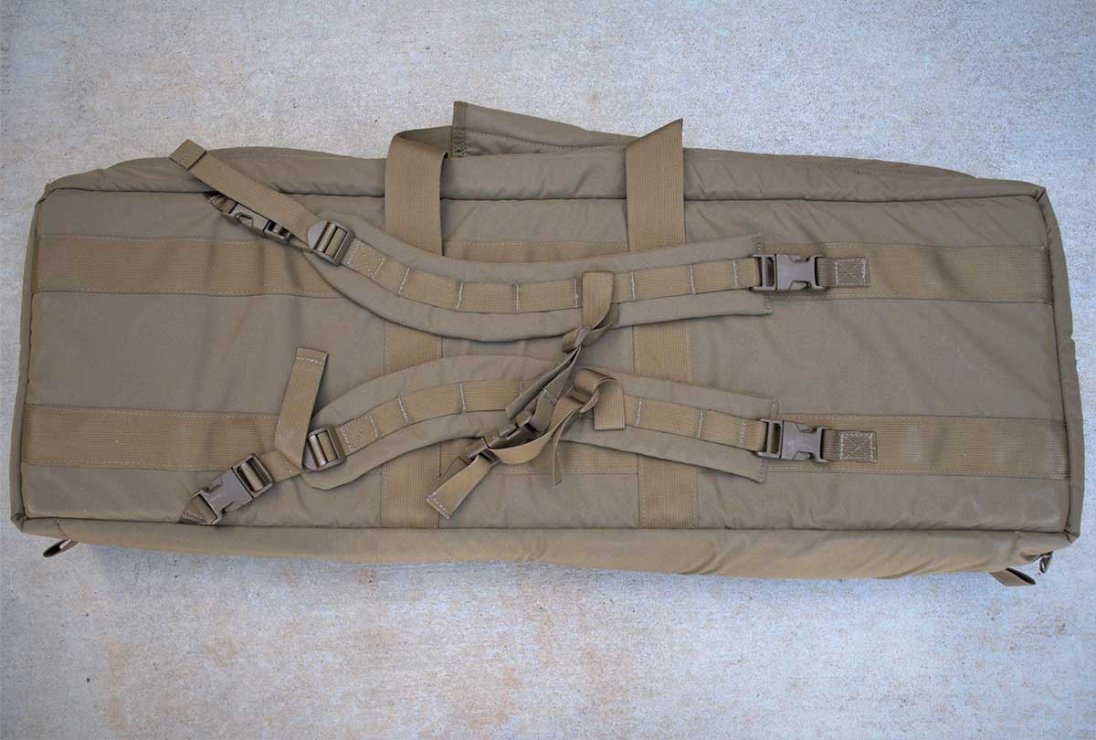 """36"""" Rifle Case Backpack Straps"""