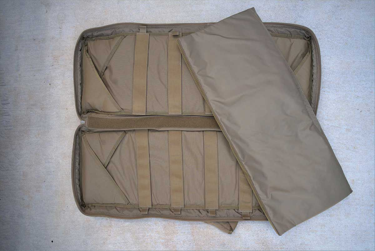 """36"""" Rifle Case Mat Removed"""
