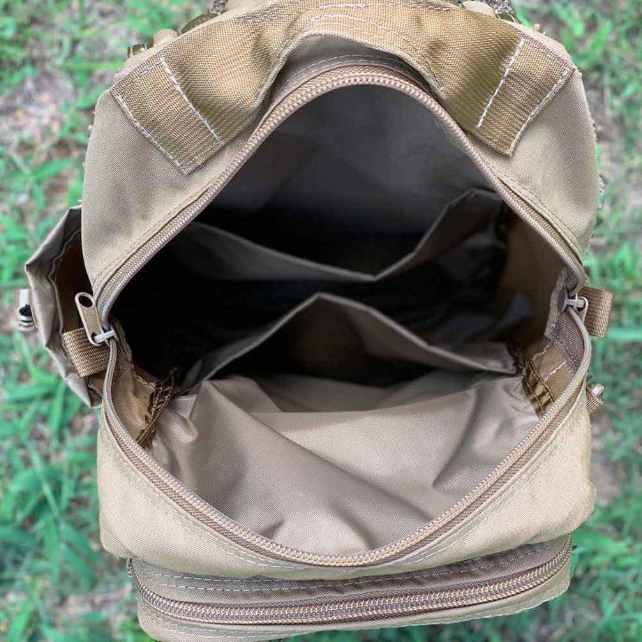 Inside EDC Backpack