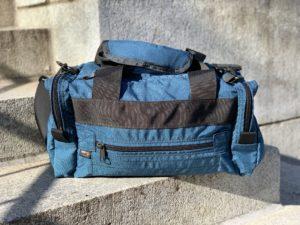 Blue Pistol Range Bag