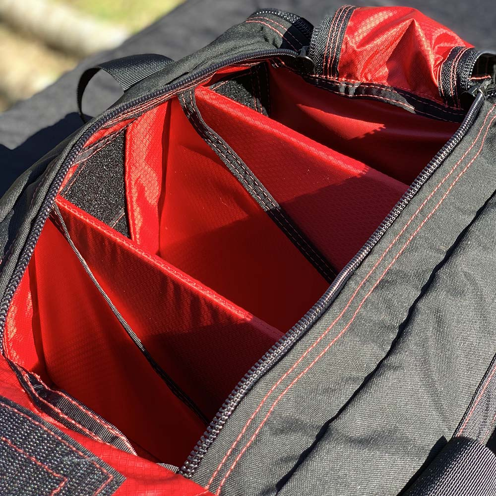 Red Interior Custom Range Bag