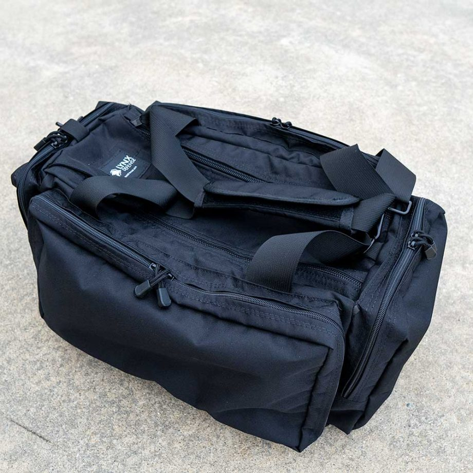 Large Pistol Range Bag Black