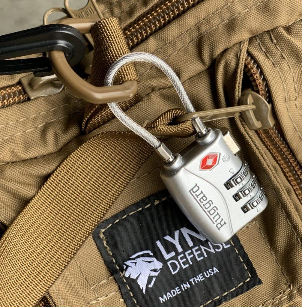 Locked Pistol Range Bag