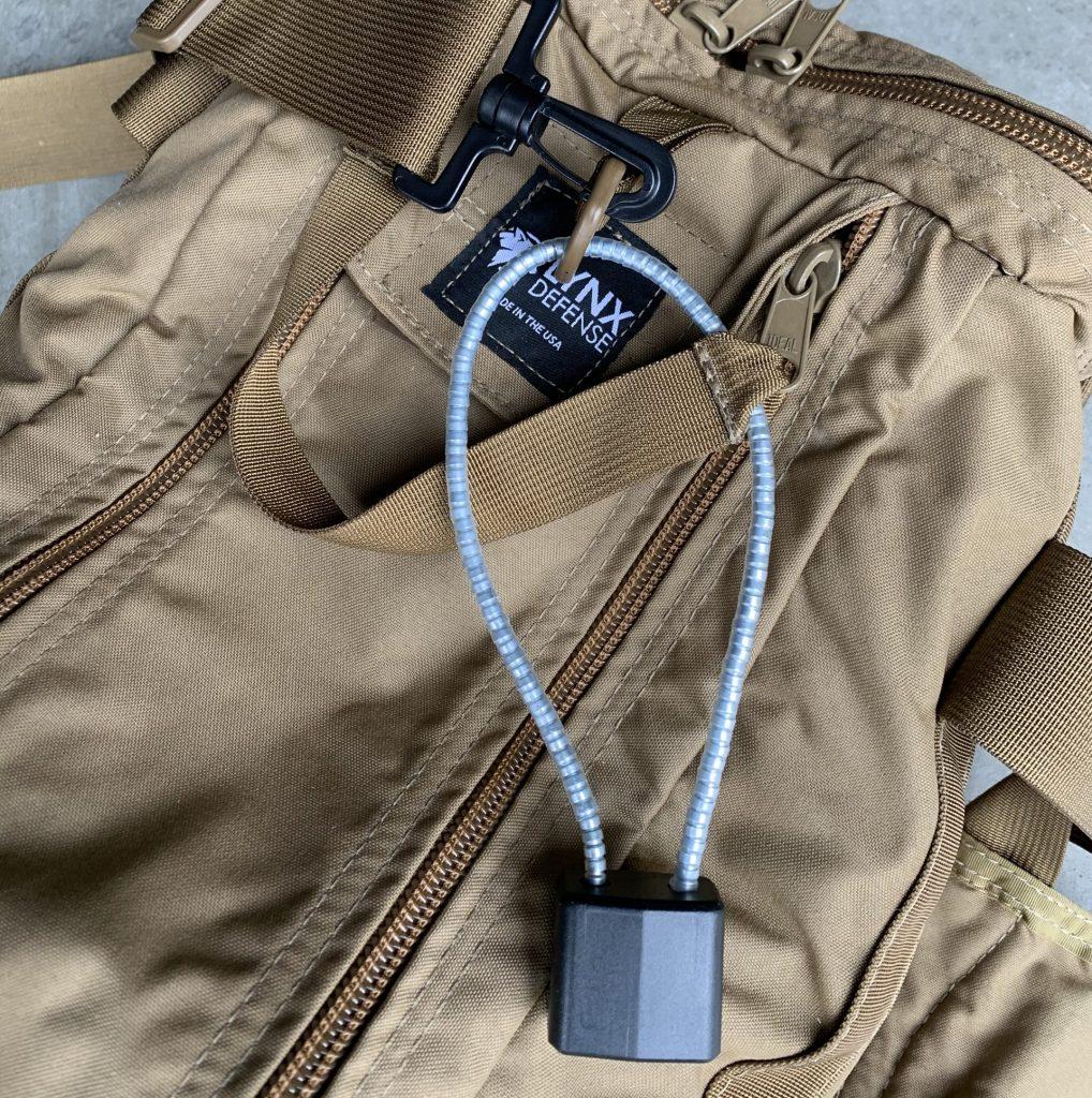Locked Pistol Bag