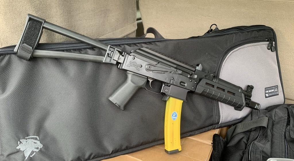 9mm AK with PSA Banana Magazine