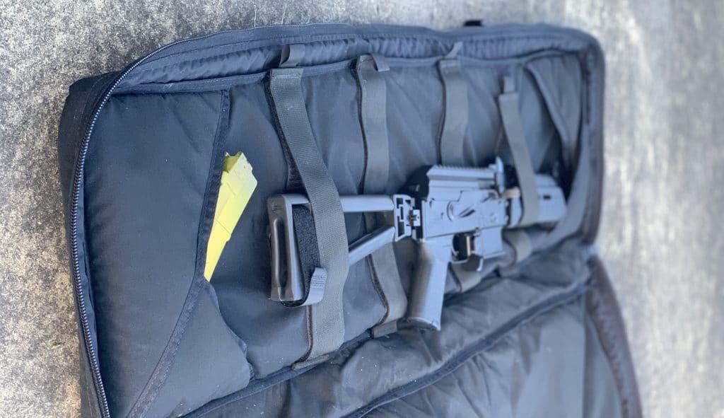 PSA AK-V in Rifle Case