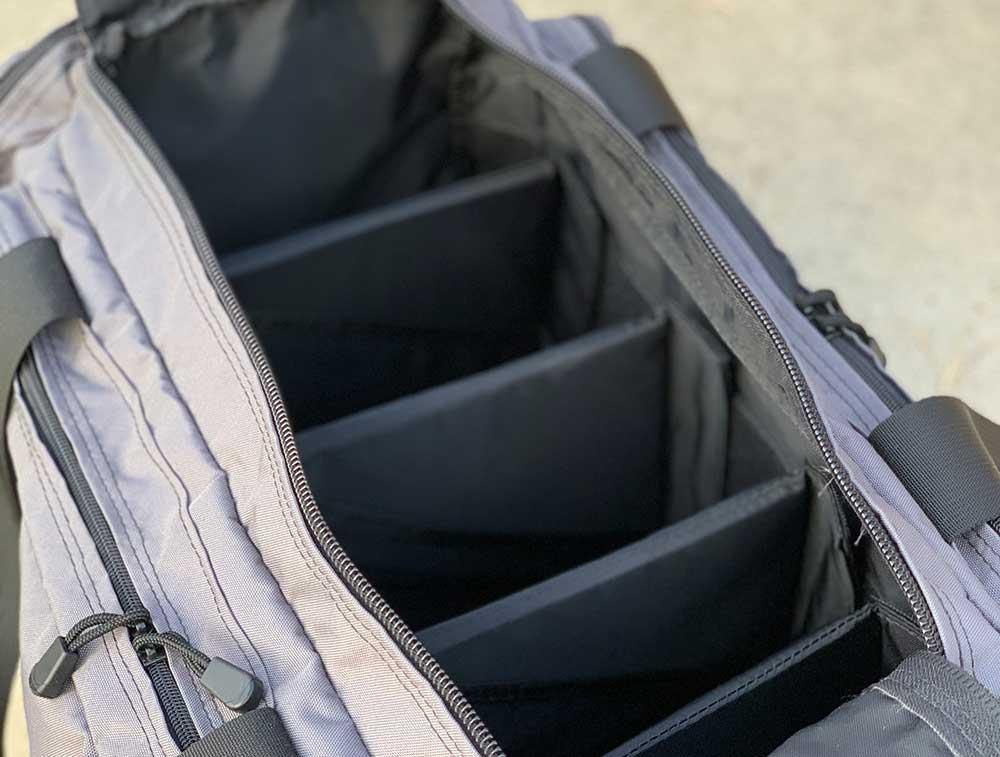 Empty Multiple Pistol Range Bag