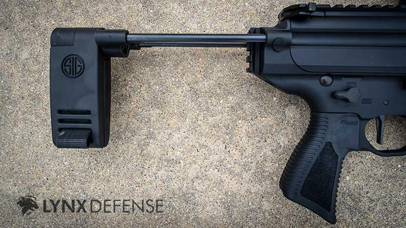Sig MPX Copperhead Pistol Brace
