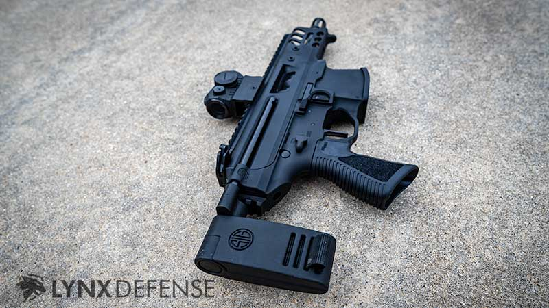 Right side of the Sig MPX