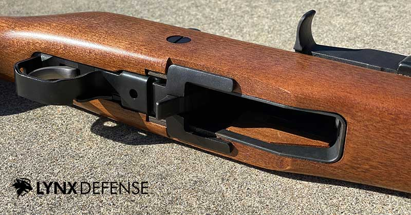 Ruger Mini 14 Magazine Well and Magazine Release