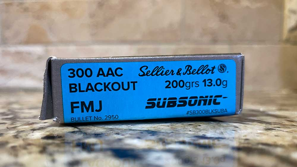Subsonic 300 Blackout