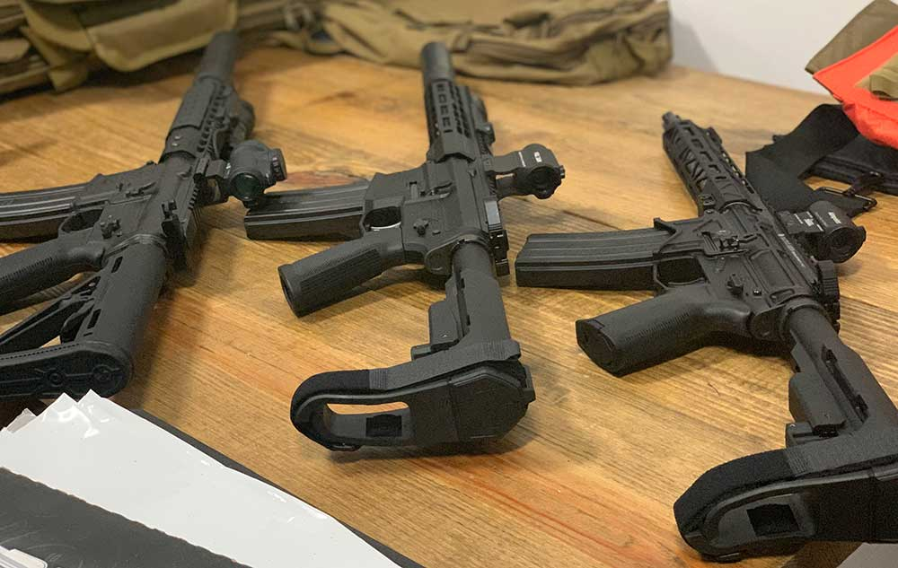 AR15 Pistol Carry Case