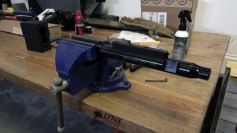 AR Tool Rod