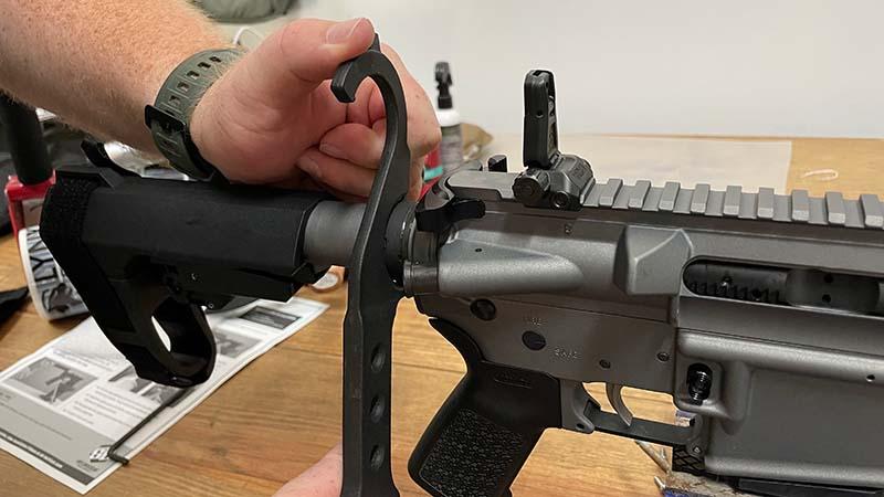 AR Tool Tightening Castle Nut