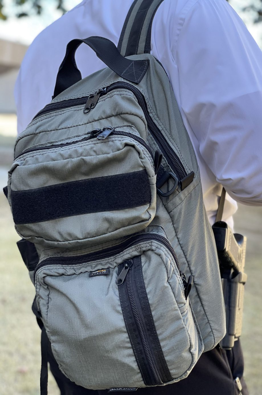 EDC Backpack in Wolf Gray