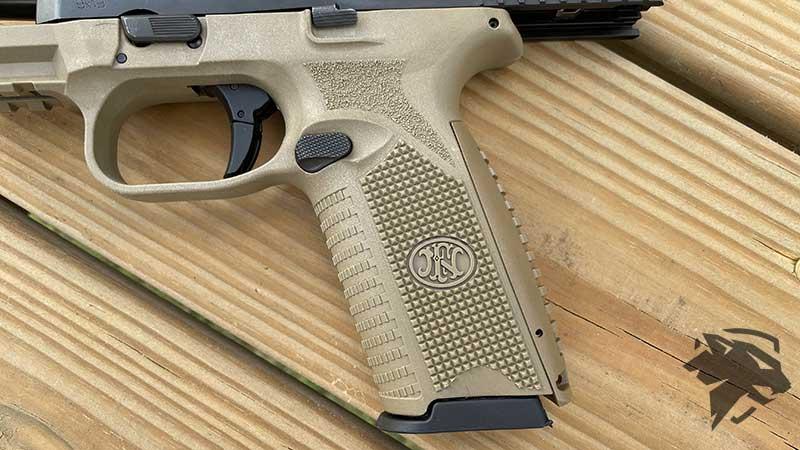 FN 509 Grip Texture