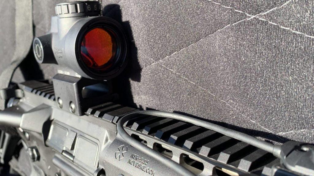 Noveske Rifle in Case with Trijicon MRO