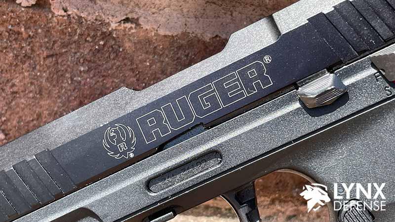 Ruger SR22 Engraving