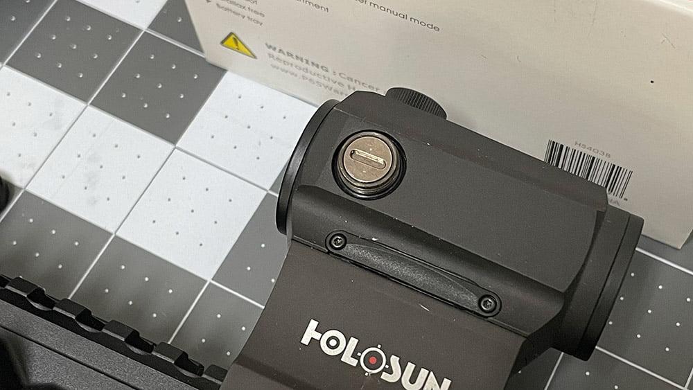 Holosun HS403B Adjustment Knob