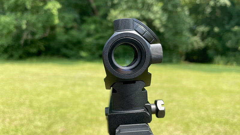 TRS-25 Sight Picture