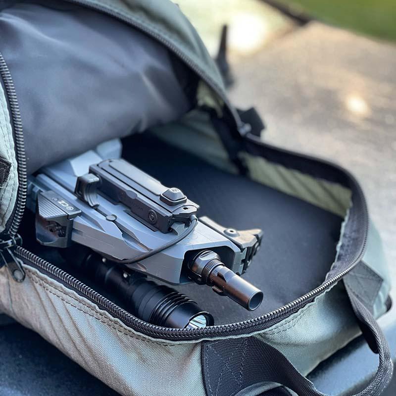 backpack carry gun