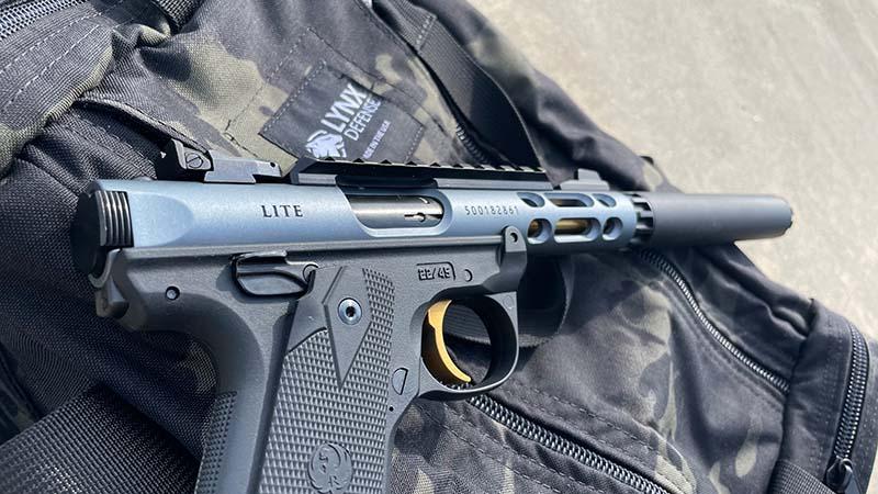 Pistol Range Bag and the Ruger Mark IV