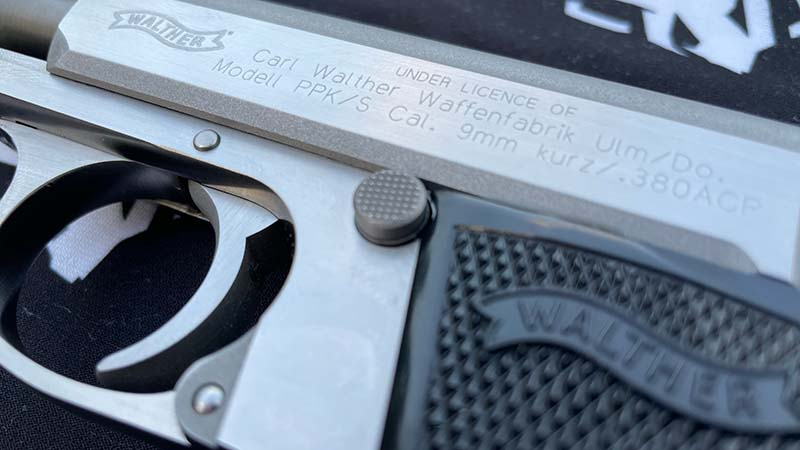 walther ppks magazinerelease