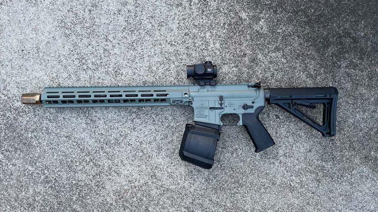 AR-15 Drum Mag