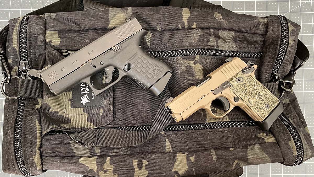 Glock 43 vs P938