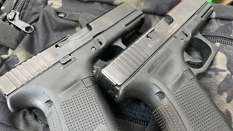 Glock 19 Slide Lock